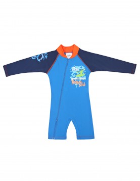 723 One piece UV swimsuit with long sleeves