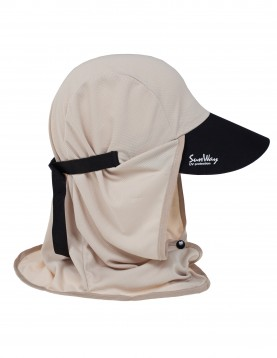 SunWay's UV Protective Hats: Adult Beige Legionnaire Sun Hat