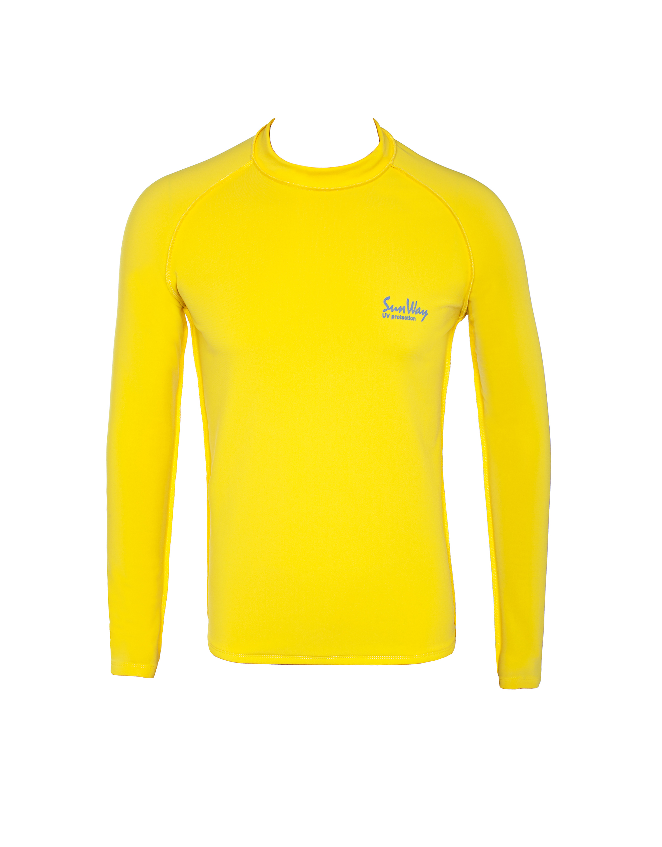 Yellow Thermal Lycra Fleece Shirt