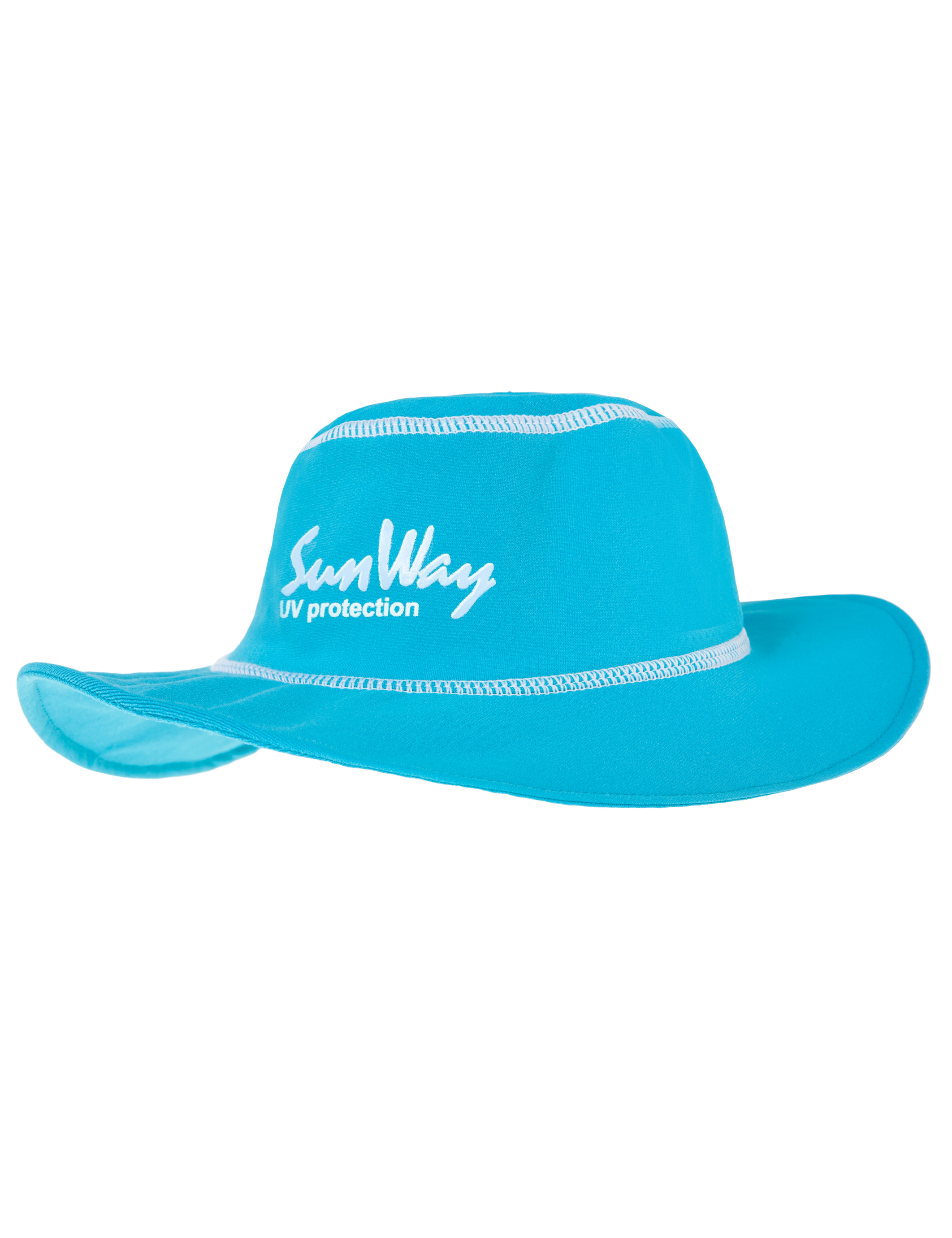 Babies and Toddlers Light Blue Wide Brim Hat