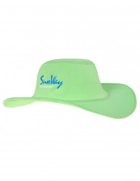 Babies and Toddlers Green Wide Brim Hat
