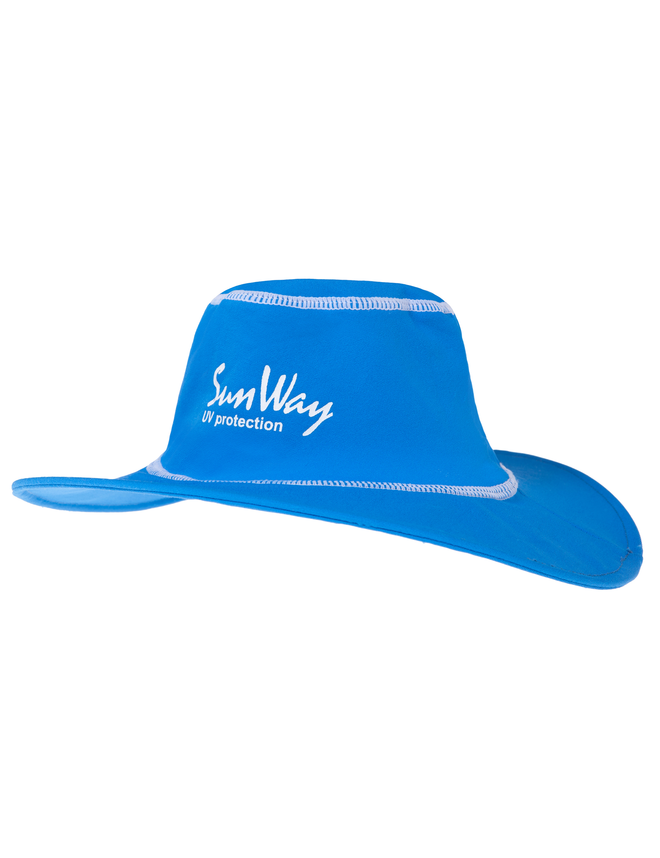 Babies and Toddlers Blue Wide Brim Hat