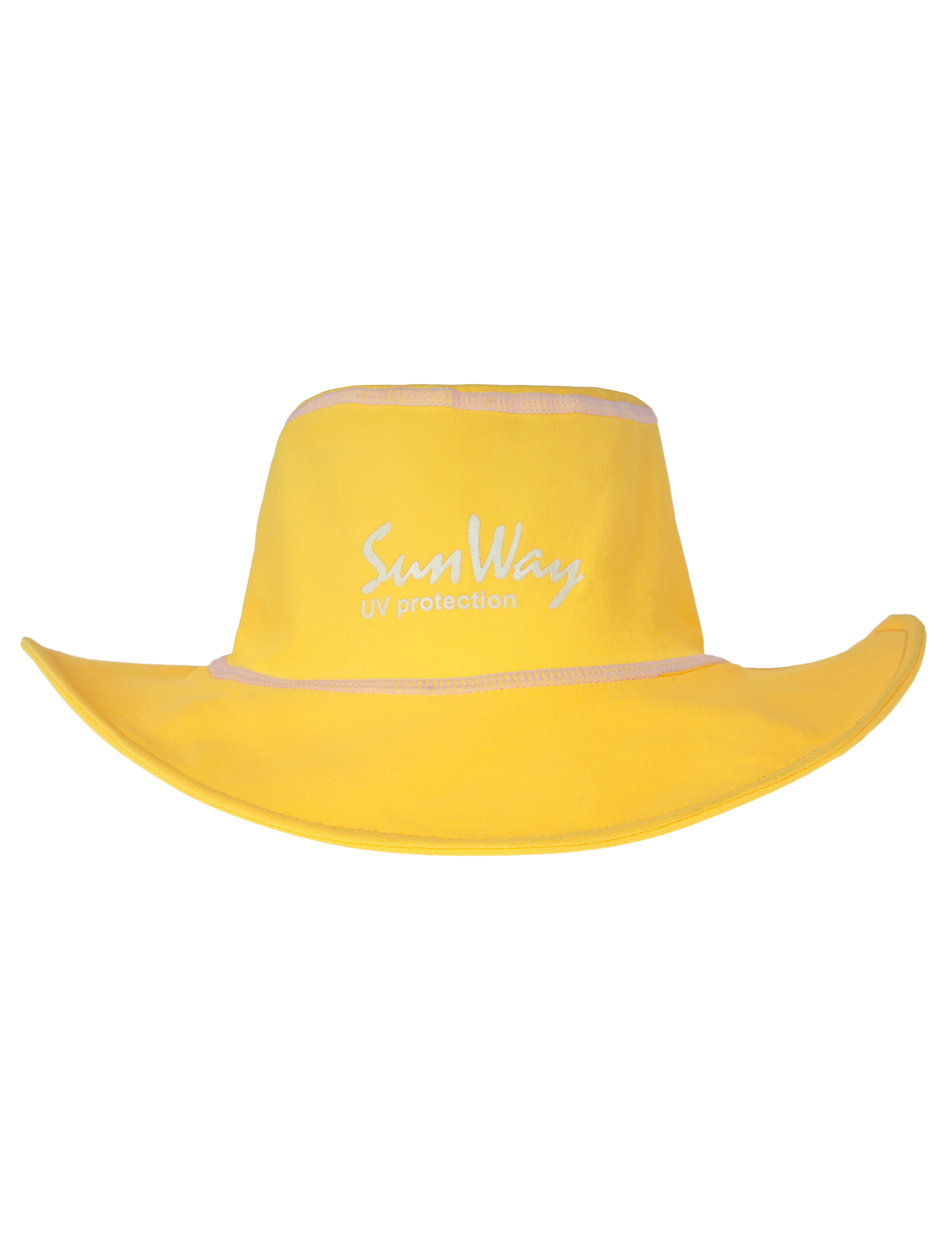 Babies and Toddlers Yellow Wide Brim Hat