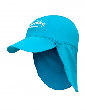 light blue legionnaire hat