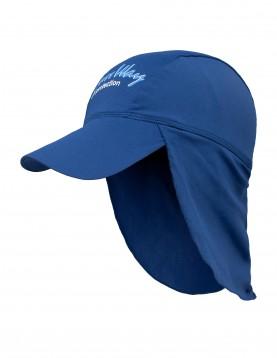 uv protective navy legionnaire hat