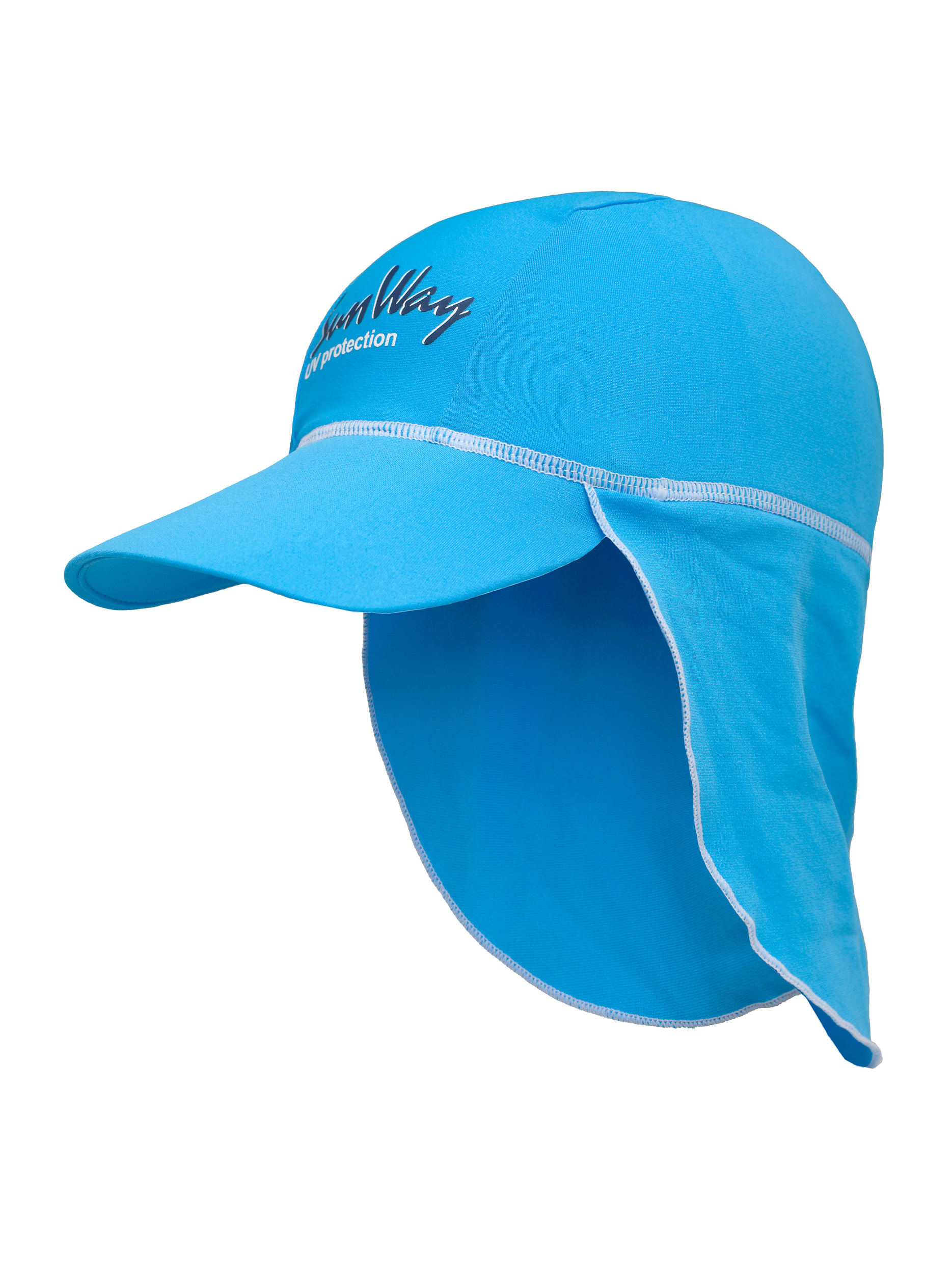 SunWay's UV Protective Hats: Blue Legionnaire Hat