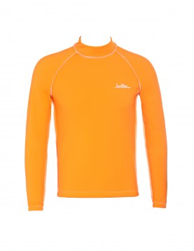 Orange Thermal Lycra Fleece Shirt