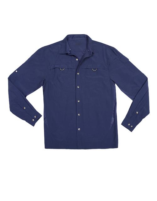 Sunway S Men Blue Uv Outdoor Shirt