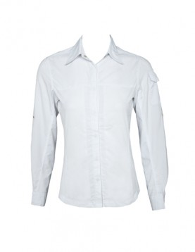 Women White UV Outdoor Shirt