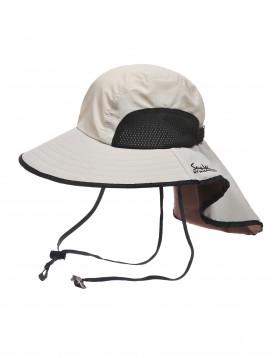 SunWay's Beige Wide Brim Hat