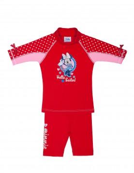 Minnie UV Rash Guard shirt and short SunWay UV Clothing Sun Protection