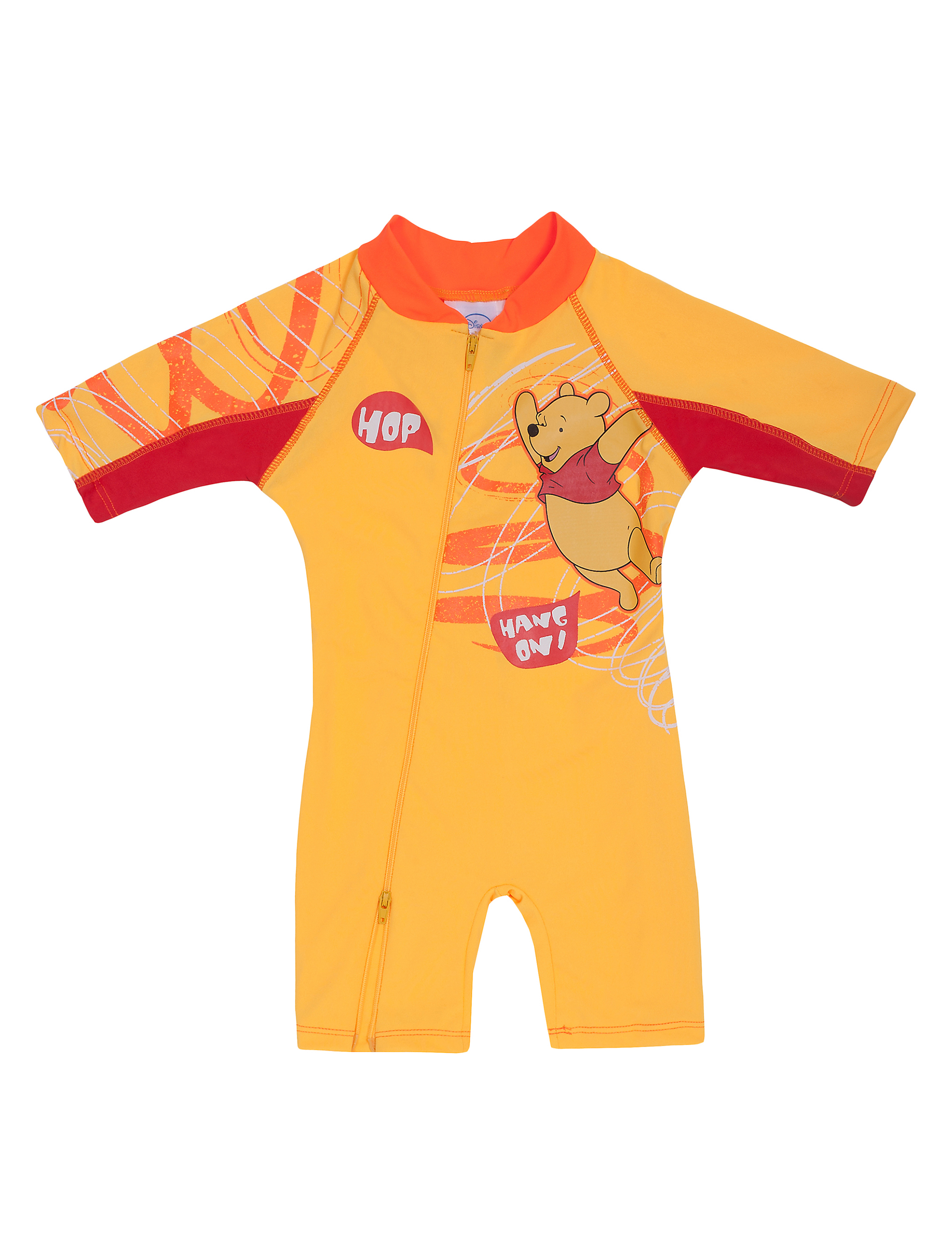 53049b4673 Disney Winnie the Pooh Yellow UV Swimsuit by SunWay