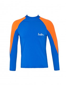 SunWay long sleeve Royal orange shirt