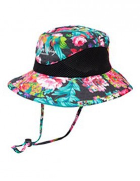 Wide Brim Flower Hat