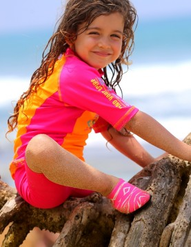 uv rash guard shirt swimwear for girls