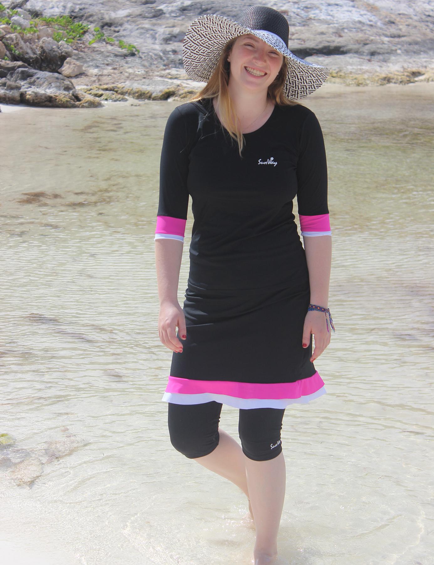 Modest Swimwear Outfit 4