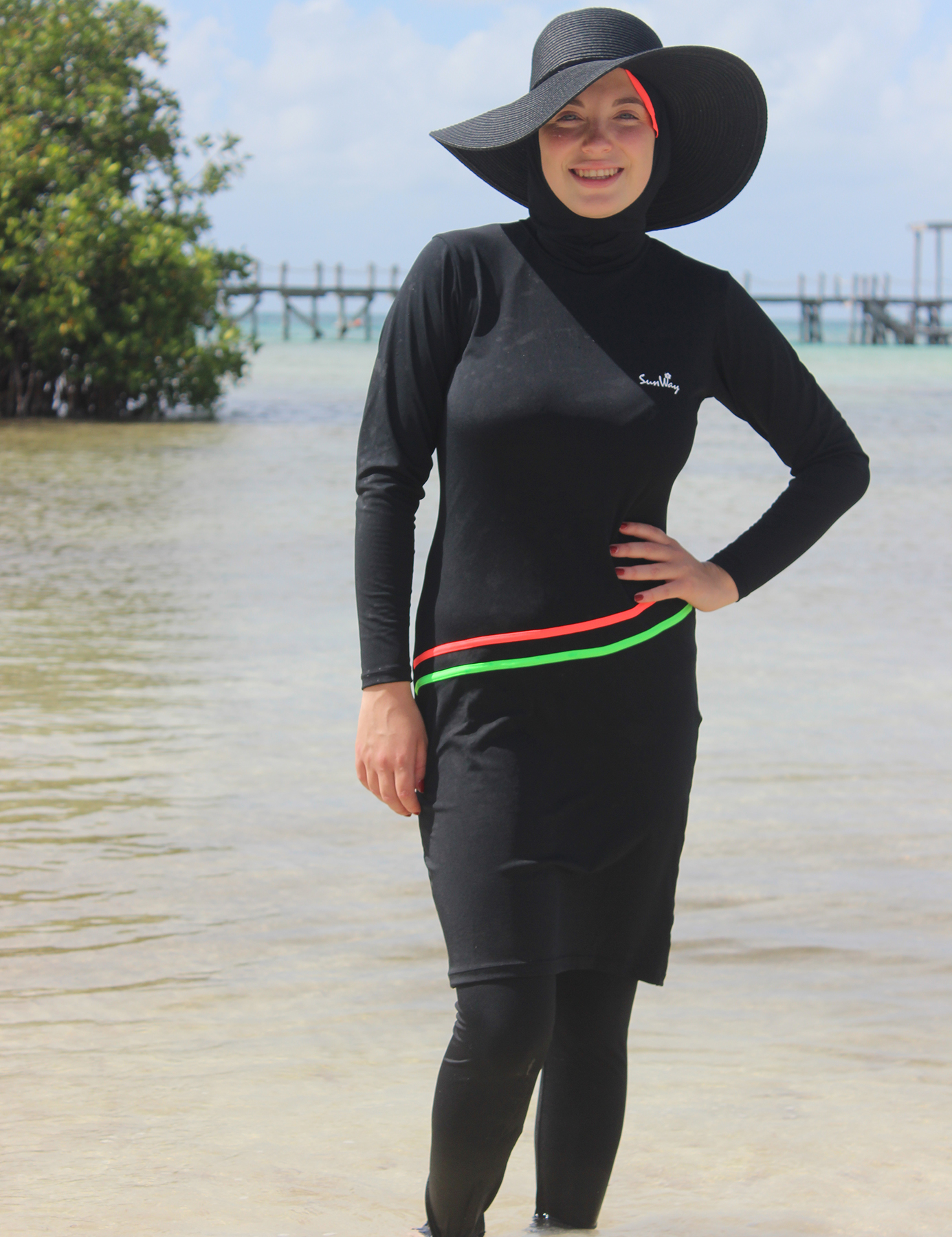 Islamic Burkini Modest Swimwear 2