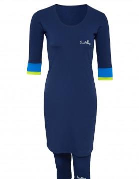 Navy Modest swimwear for women