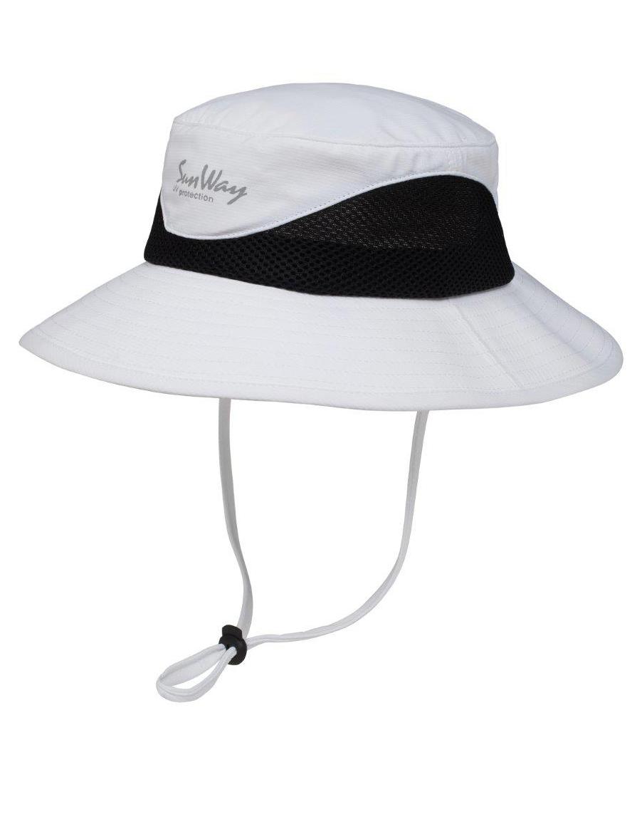 SunWay White Safari Hat