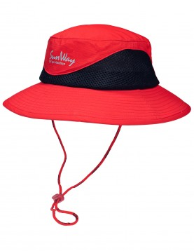SunWay Red Safari Hat