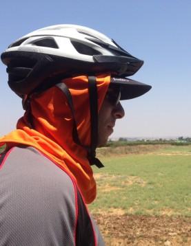 Under helmet UV headcover bandana cup 4