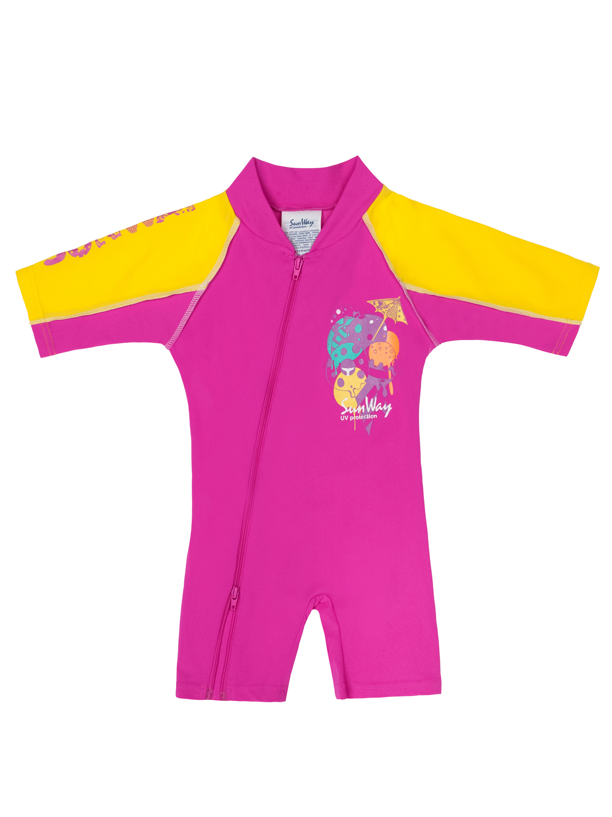 Sun protection swimwear can help you make the most of your beach vacation. SwimZip UPF 50+ UV protective fabric (the highest rated sun protection) block's 98% of UVA and UVB rays. Too much sun exposure - especially for babies, toddlers, and children - can lead directly to skin cancer later in life.