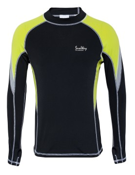 UPF50+ Long Sleeves Rash Guard Shirt