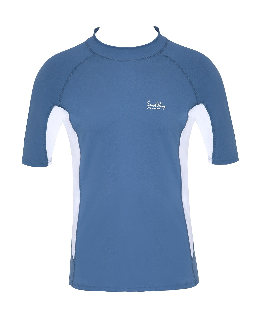 UPF 50+ Men's Long-Sleeve Swim Shirt - Sun Protective