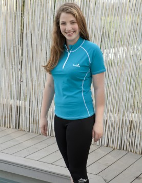 UPF50+ Women's Rashguard, UV Shirt, Swim Shirt