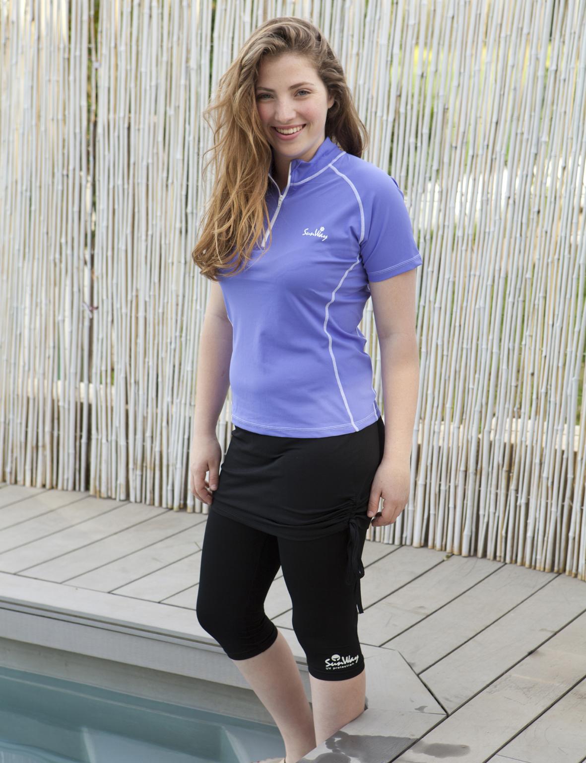 9b81bb26f4938 Rash Guard & UV Swim Shirt for women