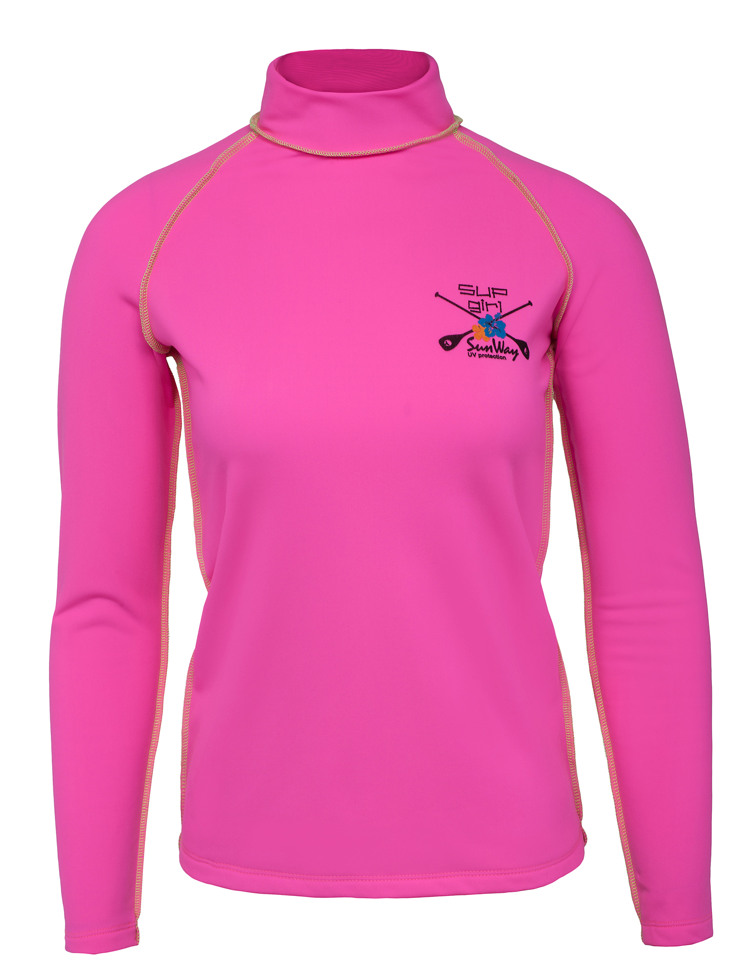 Thermal Lycra Fleece Shirt - Pink