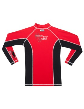 Long sleeves UV rash guard shirts for kids (3)