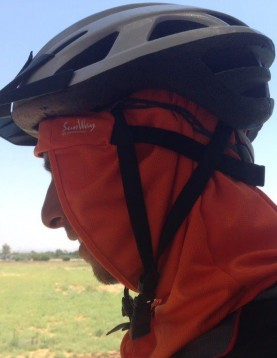 Under helmet UV headcover bandana cup SunWay UV clothing 1