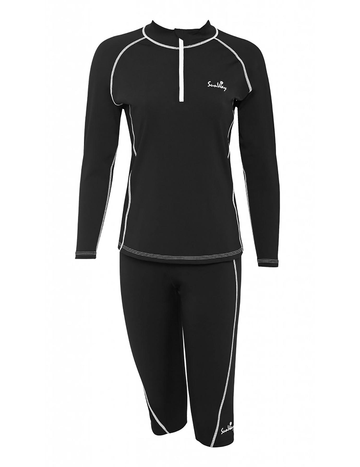 Women's Long Sleeves UV Watersport Shirts