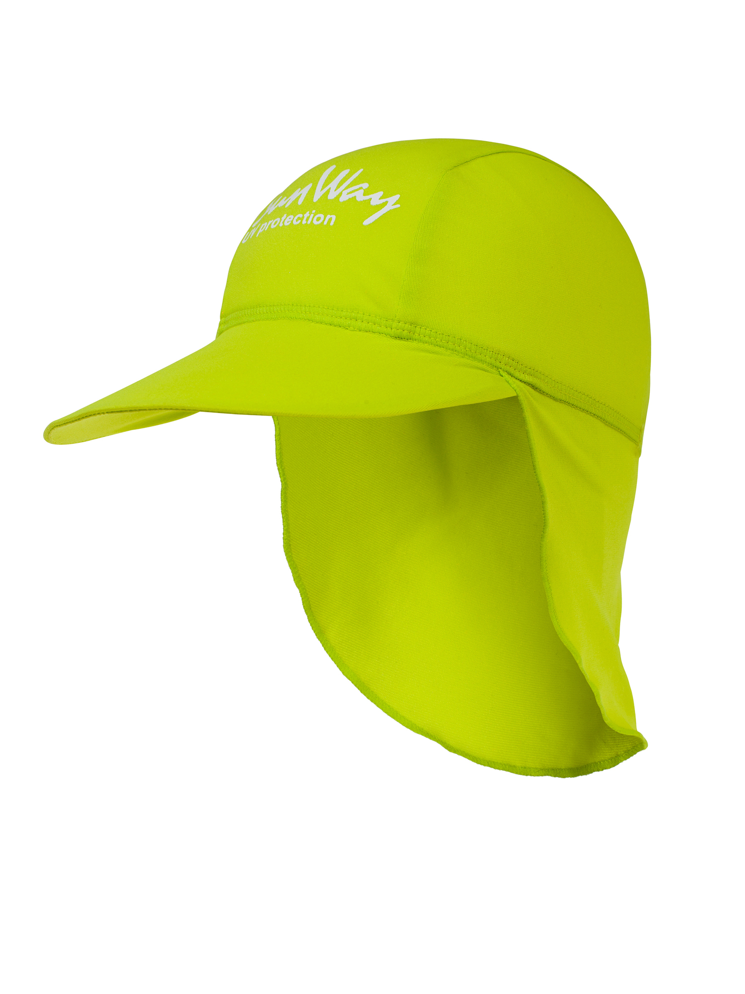 SunWay's UV Protective Hats: Lime Legionnaire Hat