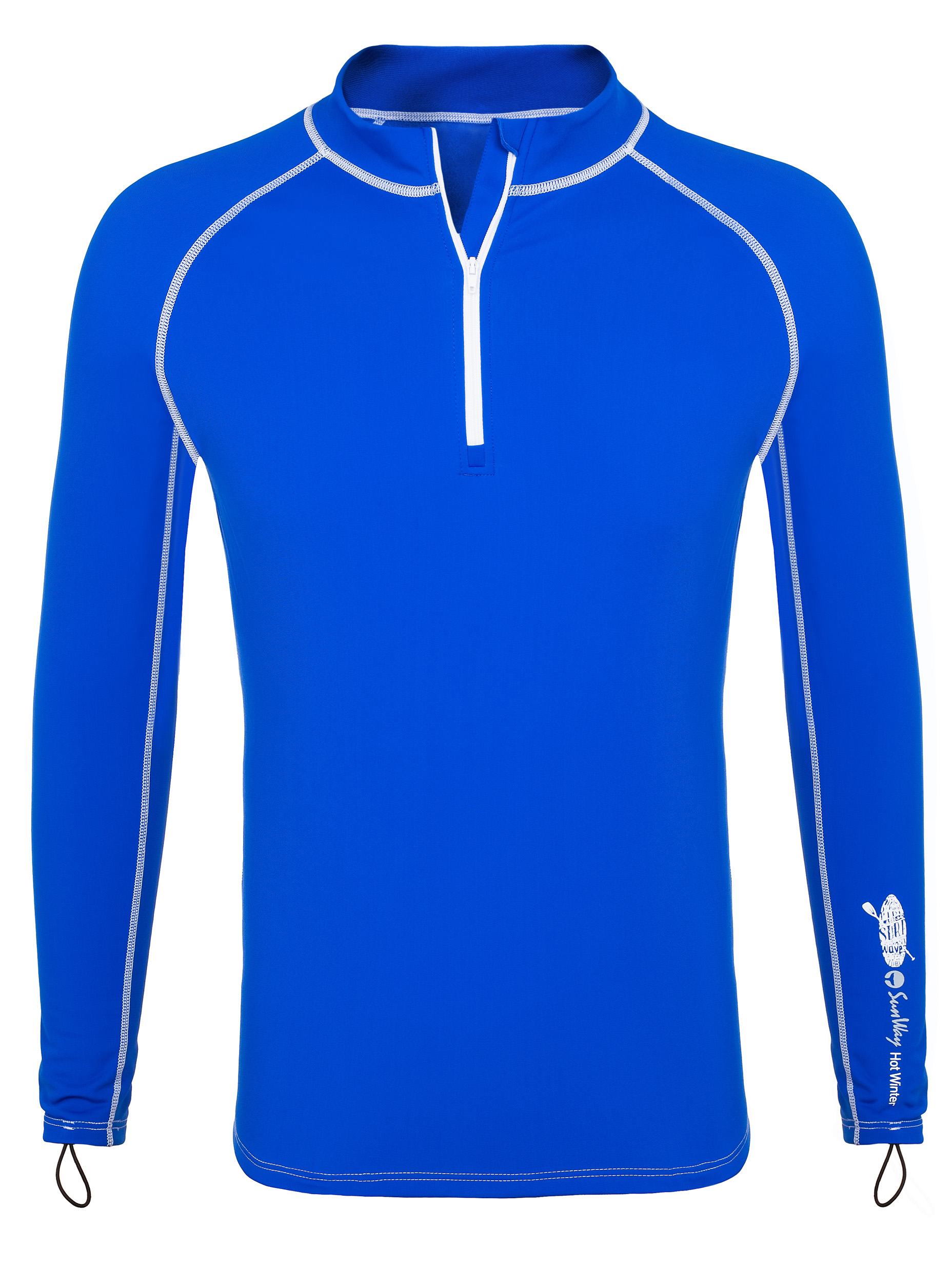 Clothing for cold water Paddling - Thermal Lycra Fleece