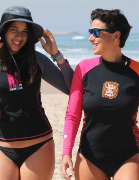 Watersports wear for women