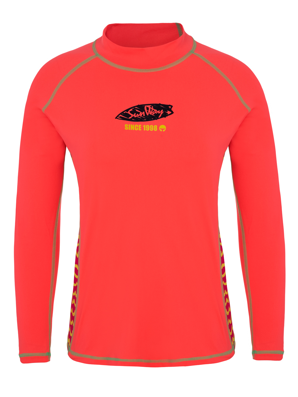 women 39 s long sleeve rashguard uv swim shirt