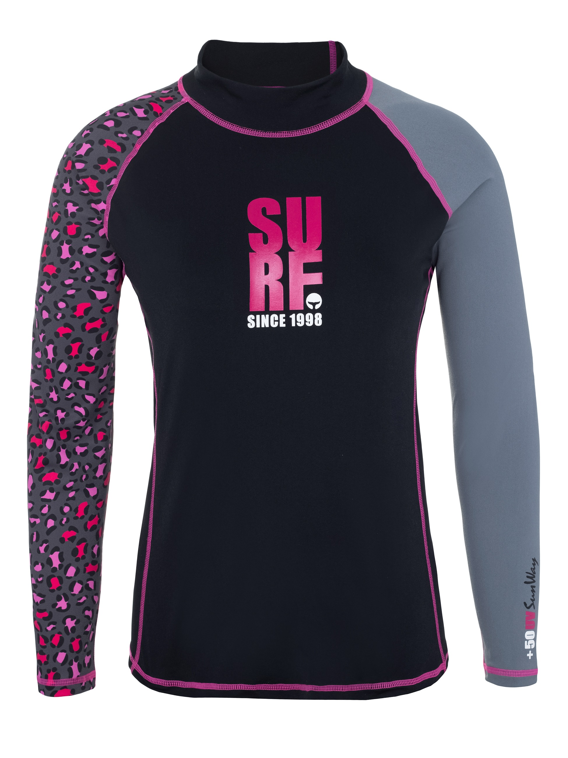 Long sleeves UV Rash guard shirt for women