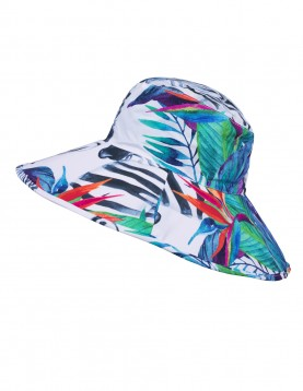 Roll up wide brim hat Colorful
