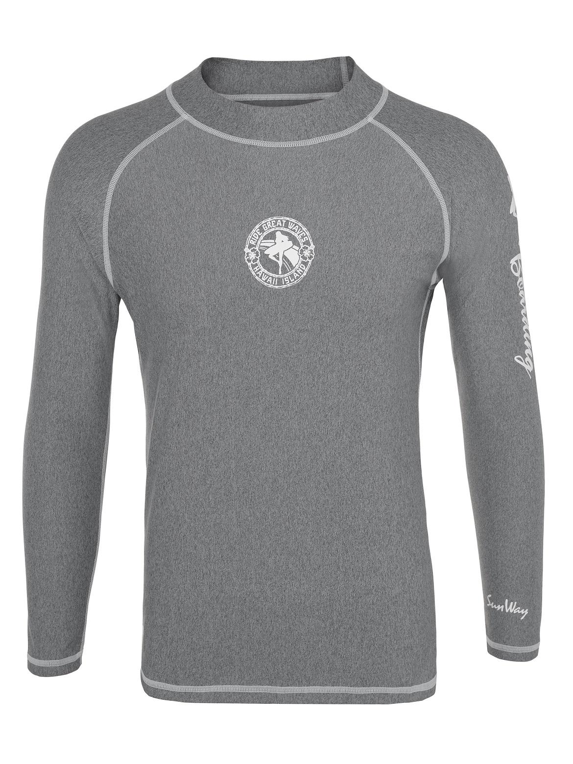 Men's Long-Sleeve Rash Guard Shirt 9258