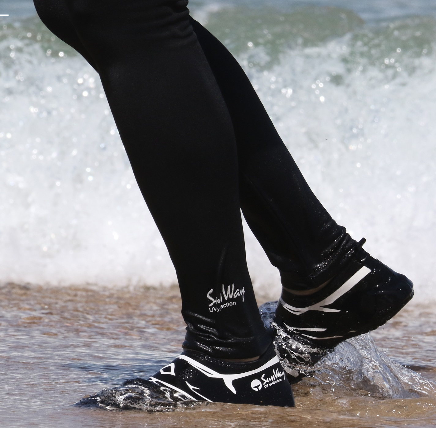 Neoprane shoes watersports shoes