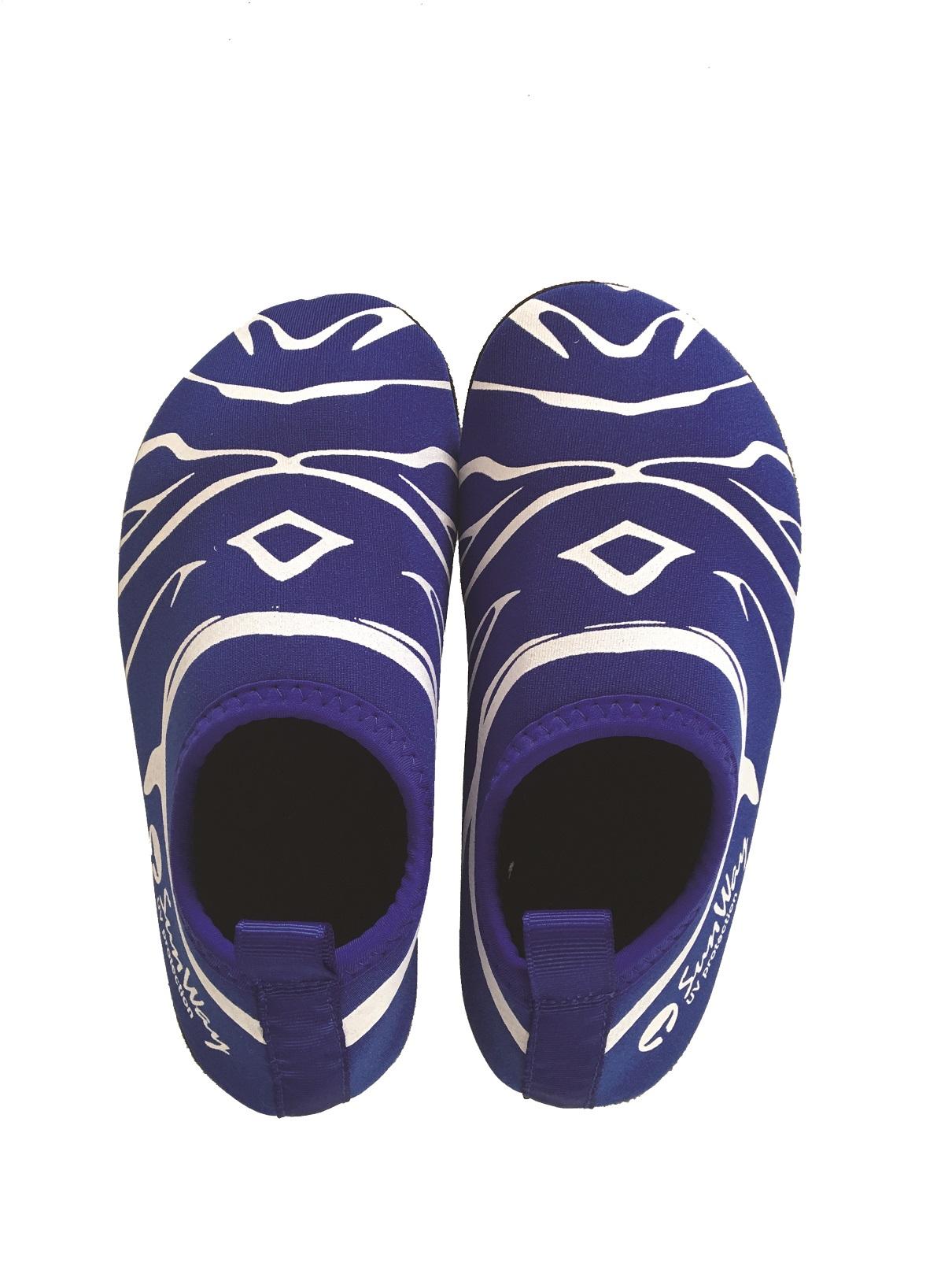 Blue Neoprene Shoes