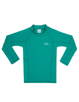 Rash Guard UV Long Sleeve Swim Shirt Green