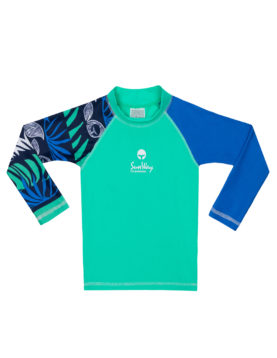 Rash Guard UV Long sleeves Swim Shirt 925