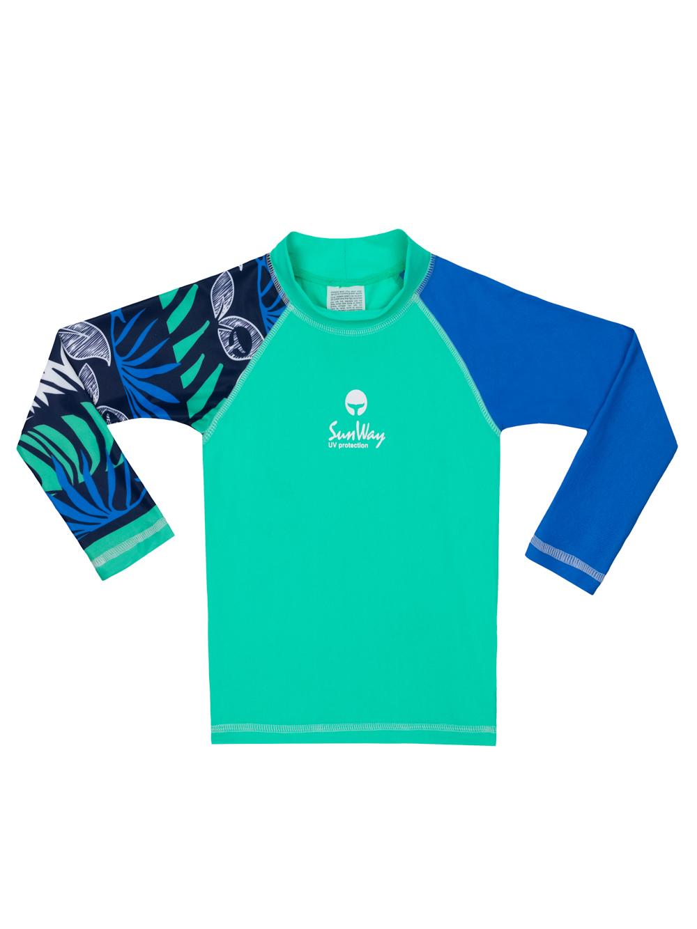 Rash Guard UV Long sleeves Swim Shirt 925