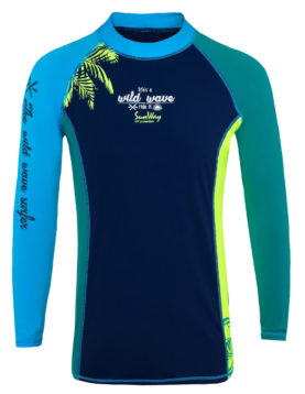 Men's Long-Sleeves Rash Guard Shirt UPF50+ 936