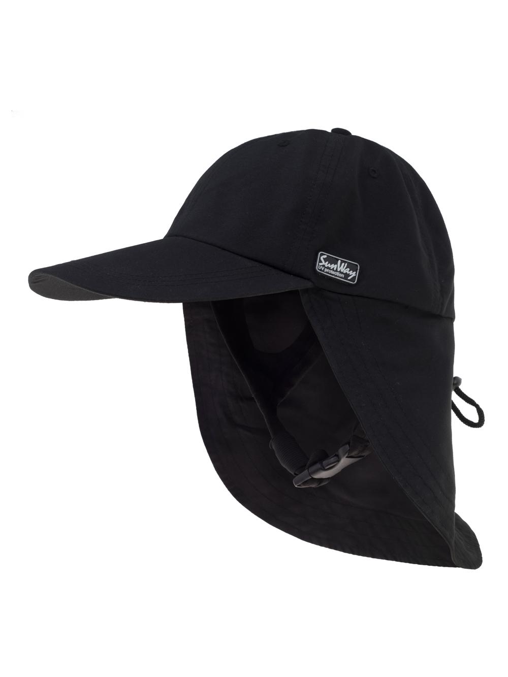 778de3d1b SunWay's UV Legionnaire Cap With a harness