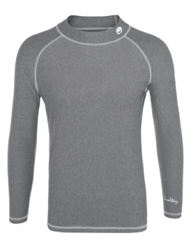 Thermal Lycra Fleece Shirt - Grey