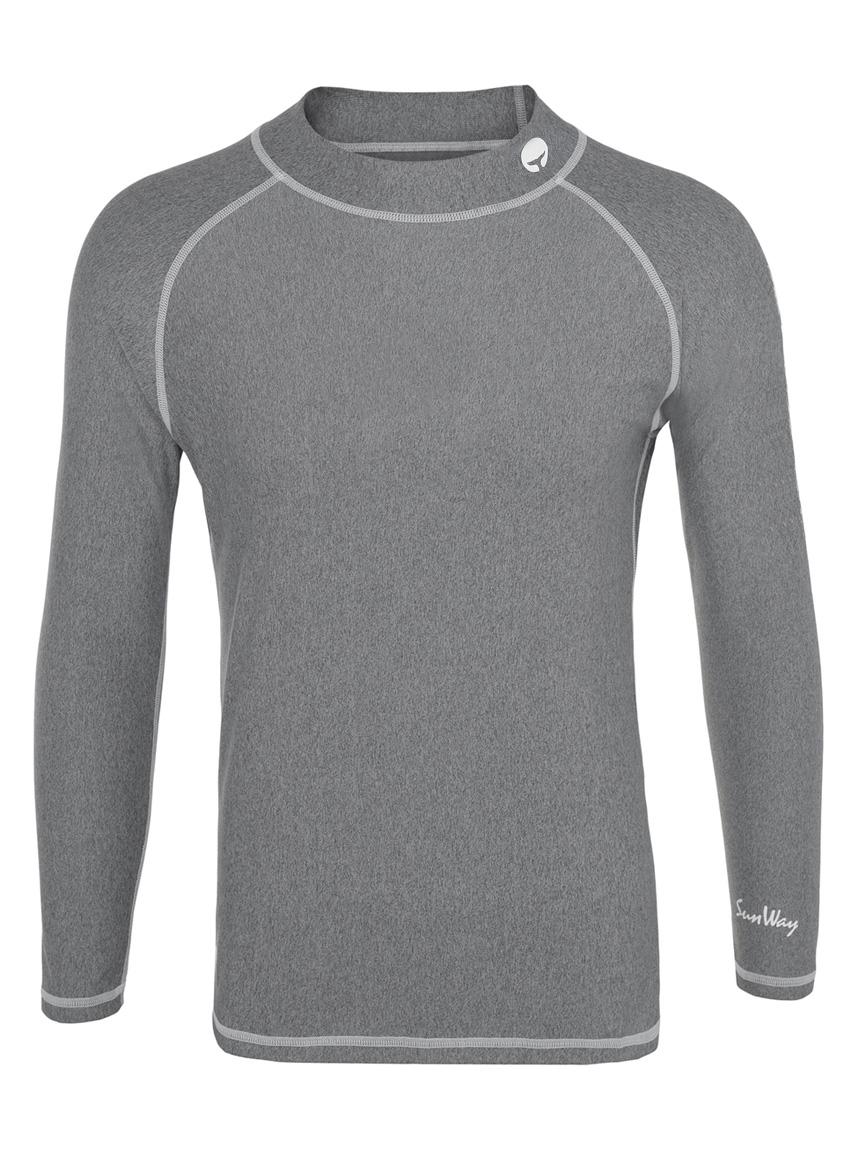 Thermal Lycra Fleece Shirt - Grey